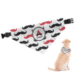 Mustache Print Dog Bandana (Personalized)