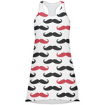 Mustache Print Racerback Dress (Personalized)