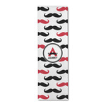 Mustache Print Runner Rug - 3.66'x8' (Personalized)