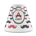 Mustache Print Chandelier Lamp Shade (Personalized)