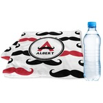 Mustache Print Sports & Fitness Towel (Personalized)