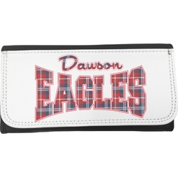Dawson Eagles Words in Plaid Ladies Wallet (Personalized)