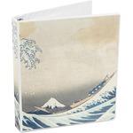 Great Wave of Kanagawa 3-Ring Binder