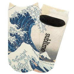 Great Wave of Kanagawa Adult Ankle Socks