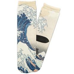 Great Wave of Kanagawa Adult Crew Socks