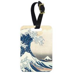 Great Wave of Kanagawa Aluminum Luggage Tag