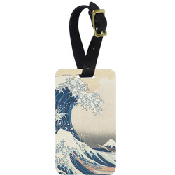 Great Wave of Kanagawa Aluminum Luggage Tag