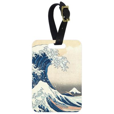 Great Wave off Kanagawa Aluminum Luggage Tag