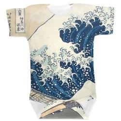 Great Wave of Kanagawa Baby Bodysuit