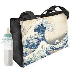 Great Wave of Kanagawa Diaper Bag