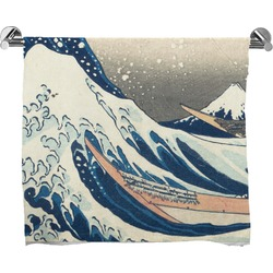Great Wave of Kanagawa Full Print Bath Towel