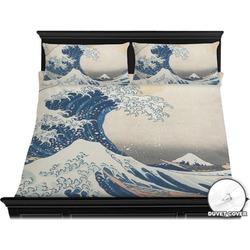Great Wave of Kanagawa Duvet Cover Set - King