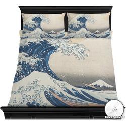 Great Wave of Kanagawa Duvet Cover Set