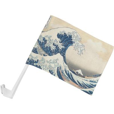 Great Wave off Kanagawa Car Flag - Small