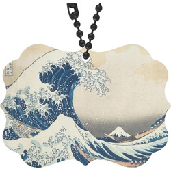 Great Wave of Kanagawa Rear View Mirror Decor