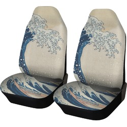 Great Wave of Kanagawa Car Seat Covers (Set of Two)