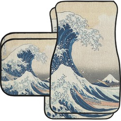 Great Wave of Kanagawa Car Floor Mats