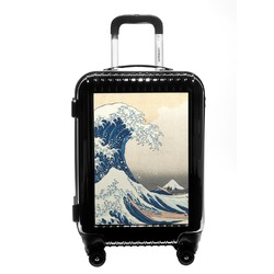 Great Wave off Kanagawa Carry On Hard Shell Suitcase
