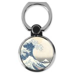 Great Wave off Kanagawa Cell Phone Ring Stand & Holder