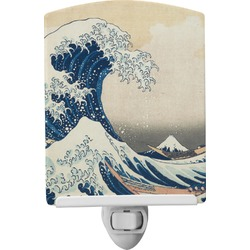 Great Wave of Kanagawa Ceramic Night Light