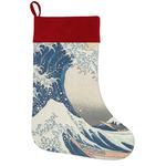 Great Wave off Kanagawa Holiday Stocking