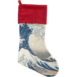 Great Wave of Kanagawa Christmas Stocking