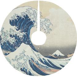 Great Wave of Kanagawa Tree Skirt