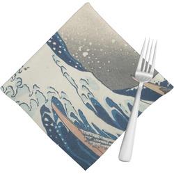 Great Wave of Kanagawa Napkins (Set of 4)