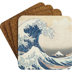 Great Wave of Kanagawa Coaster Set