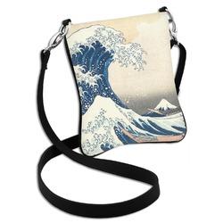 Great Wave of Kanagawa Cross Body Bag - 2 Sizes