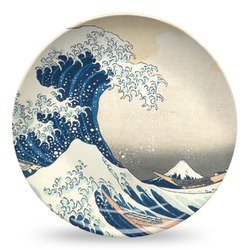 Great Wave of Kanagawa Microwave Safe Plastic Plate - Composite Polymer