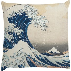 Great Wave off Kanagawa Decorative Pillow Case