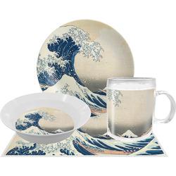Great Wave of Kanagawa Dinner Set - 4 Pc