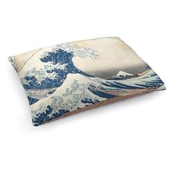 Great Wave of Kanagawa Dog Pillow Bed