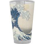 Great Wave of Kanagawa Drinking / Pint Glass