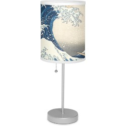 "Great Wave of Kanagawa 7"" Drum Lamp with Shade"