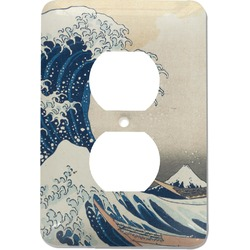 Great Wave of Kanagawa Electric Outlet Plate