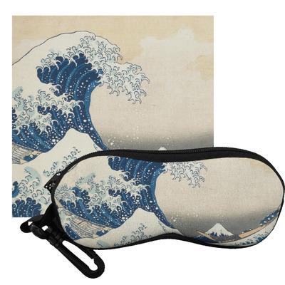 Great Wave off Kanagawa Eyeglass Case & Cloth
