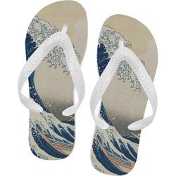 Great Wave of Kanagawa Flip Flops