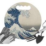 Great Wave off Kanagawa Gardening Knee Cushion
