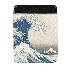 Great Wave of Kanagawa Genuine Leather Money Clip