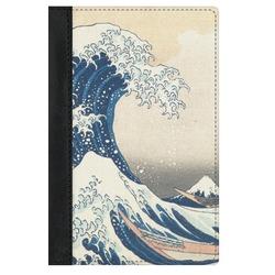 Great Wave of Kanagawa Genuine Leather Passport Cover