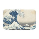 Great Wave of Kanagawa Genuine Leather Small Framed Wallet