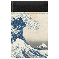 Great Wave of Kanagawa Genuine Leather Small Memo Pad