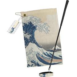 Great Wave of Kanagawa Golf Towel Gift Set