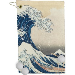 Great Wave of Kanagawa Golf Towel - Full Print