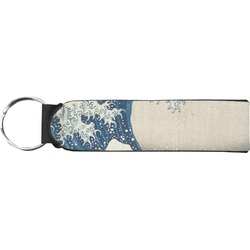 Great Wave of Kanagawa Neoprene Keychain Fob