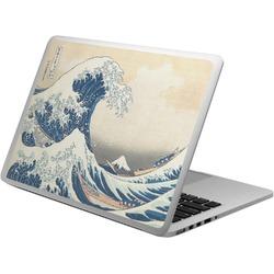 Great Wave of Kanagawa Laptop Skin - Custom Sized
