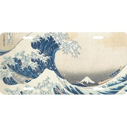 Great Wave of Kanagawa Front License Plate