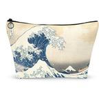 Great Wave of Kanagawa Makeup Bags
